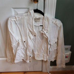 Moon river white jacket